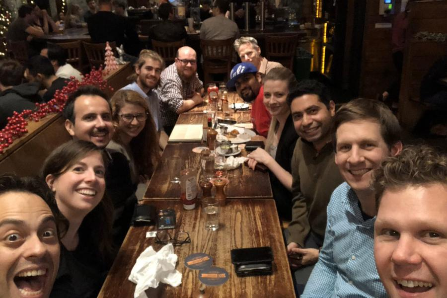 DCO Early Career scientists gathered at AGU 2019