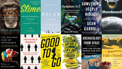 Hazen's newest book named one of Science News' top books of 2019!